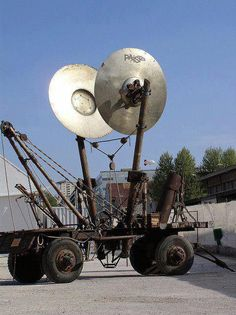 Big Cymbals. Should use for town clock. That would be cool.