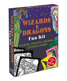 Made in the USA  .... Wizards & Dragons Fun Kit