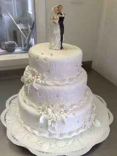 fehér esküvői torta - Google Search