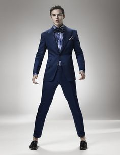Dark Navy Blue Suit Brown Shoesi Love Men In Suits Suits And Shoes ...