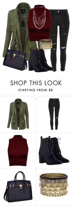 """""""Fall in the City"""" by ewa-kamila ❤ liked on Polyvore featuring LE3NO, River Island, WearAll, Zimmermann, Daytrip, Fall and city"""