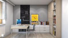 Dom w Przeszowicach - Średni pokój dziecka dla chłopca dla nastolatka, styl nowoczesny - zdjęcie od A2 STUDIO pracownia architektury