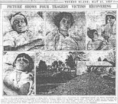 Recovering from the Bath school massacre. On May 18, 1927, 45 people, mostly children, were killed and 58 were injured when disgruntled and demented school board member Andrew Kehoe dynamited the new school building in Bath, Michigan out of revenge over his foreclosed farm due in part to the taxes required to pay for the new school.