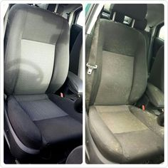 Deep interior valet before and after