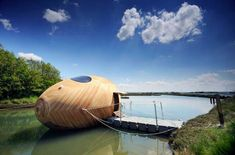 Exbury Egg by SPUD, Perring Architecture + Design (PAD) (River Beaulieu, UK)
