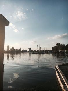 Soaking up the sun at Donau, Vienna Vienna, Austria, Sun, Beach, Water, Outdoor, Water Water, Outdoors, Aqua