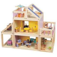 Designed By You Dollhouse with Furniture #MaximEnterprises
