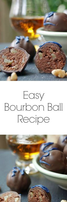 Need an easy bourbon ball recipe? This one is simple and quick, with plenty of bourbon flavor. If you are looking for bourbon recipes, this one is divine!