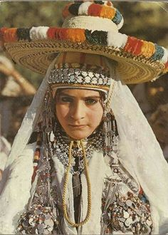 Young woman from Chefchaouen