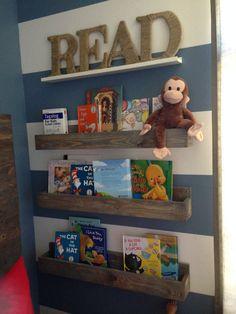 Three 24 Inch Children's Book Shelf, Wall Book Shelf, Shelves, Reading Book…