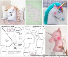 Amazing Home Sewing Crafts Ideas. Incredible Home Sewing Crafts Ideas. Sewing Toys, Baby Sewing, Sewing Crafts, Sewing Projects, Cute Pillows, Baby Pillows, Kids Pillows, Animal Sewing Patterns, Stuffed Animal Patterns