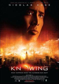 KNOWING (Presagio) 2009.Es altamente recomendabe y el final no decepciona para nada.