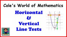 Vertical & Horizontal Line Tests ❖ Algebra 1 and 2