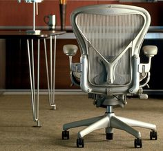 I'm planted firmly in the 'cheap desks, expensive chairs' camp when it comes to office furniture. I this this is the best office chair that money can (reasonably) buy, and I don't think anyone who has regularly used one would challenge me on that.