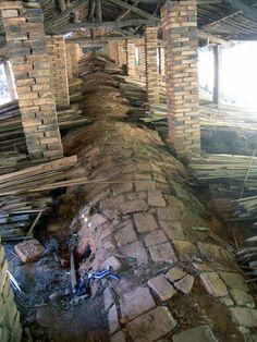 (49) Facebook Wood Kiln, Pottery Kiln, Types Of Fire, Sake Bottle, Firewood, Brick, Bottles, Landscapes, Around The Worlds