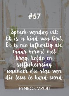 Fynbos Vrou.. Nicholas Sparks Quotes, Hard Words, Pictures Of Jesus Christ, Afrikaanse Quotes, Godly Marriage, Dear God, Faith In God, Positive Thoughts, Beautiful Words