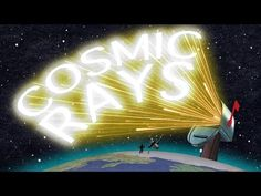 In a recent TED-Ed animation, University of Hawaii physics professor Veronica Bindi explains how cosmic rays help us understand the universe. Earth And Space Science, Earth From Space, Science For Kids, Classroom Images, Classroom Posters, Science Education, Science And Technology, Verona, Forms Of Matter
