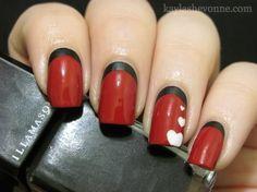 Valentine's Day Nail Art Series