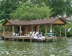 The Lake Channel: House & Dock.