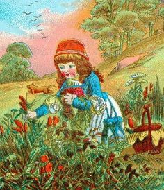 Little Red Riding Hood Little Red, Little Girls, Red Hood, Red Riding Hood, Illustration, Fairy Tales, Alice, Fantasy, Vintage