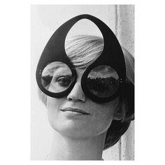 Eyewear inspiration of the day is 1960s era Pierre Cardin.#rimsandgoggles #millvalley #marin RIMSandGOGGLES.com