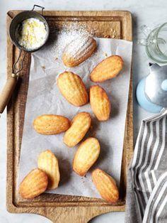 Madeleines with Lemon Sugar