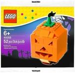 Halloween Pumpkin Manufacturer: LEGO Series: LEGO Halloween Release Date: October 2013 Card Number: 40055 Pieces: 52 For ages: 6 and up UPC: 673419183796 Details (Description):  Build some LEGO fright into Halloween night! Build a happy Halloween with a spooky LEGO Halloween Pumpkin! This seasonal mini build features a carved face design and a whispy green stem, just like the real thing! Makes a great gift for LEGO builders trick or treaters alike! � Features a creepy carved face design and…