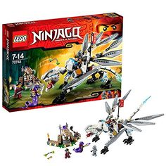 lego ninjago playthmes 70748 jeu de construction le dragon de titane