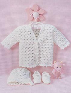 10 FREE Baby Set Patterns