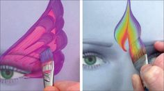 Perfect practice with 5 awesome brushes / Face Painting Made Easy PART 4