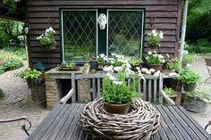 Dekorativer Garten