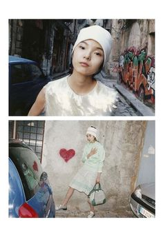 Ad Campaign: Xiao Wen Ju for Marc Jacobs, Spring/Summer 2012