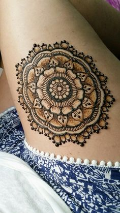 45 Simple Henna Tattoo Designs to try at-least once | Simple Henna Tattoo Designs | Temporary tattoo Designs | Mehandi Designs | Easy Mehandi Designs | Voguishgal.com