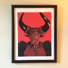 Legend Lord of Darkness limited edition giclee