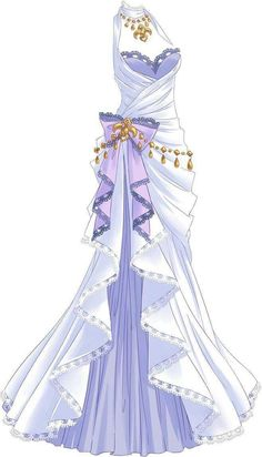 garment jewelry purple bow queen princess - ladies jewelry and accessories - White garment jewelry purple bow queen princess – Arch Queen Princess Clothes body decora -White garment jewelry purple bow queen princess - ladies jewelry and accesso. Fashion Design Drawings, Fashion Sketches, Drawing Fashion, Pretty Dresses, Beautiful Dresses, Kleidung Design, Cute Princess, Anime Dress, Dress Drawing