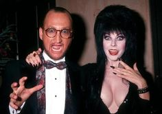 Robert Englund and Elvira