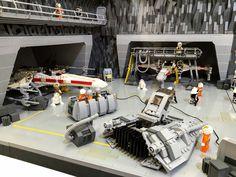 Insane STAR WARS LEGO Diorama Features the Epic Battle of Rhen Va — GeekTyrant