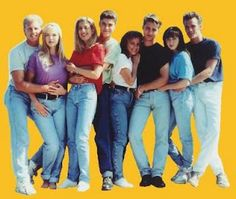 High waisted jeans and other 90s fashion is coming back in style. Let's all take a moment to really think about this. Here's some of the best 90's fashion. I think I'll pass.