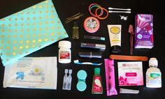 "What's in My ""Just in Case"" Bag - Ashley Brooke - Ashley Brooke // Powered by chloédigital School Survival Kits, Just In Case, Just For You, Do It Yourself Inspiration, Ashley Brooke, What In My Bag, My Bags, Girly Things, Girly Stuff"
