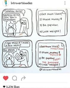#Repost @ swtr_pangemanan  My resolutions too @ introvertdoodles