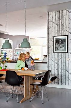Cole & Son woods behang, onze favoriet!