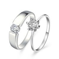 I think you'll like 18K White Gold Plated 1 *** 2 pcs. set ***  Art. RJ036 Couple Ring. Add it to your wishlist!  http://www.wish.com/c/52f92b60796f686913de7cf5