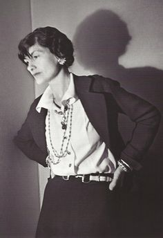 * Coco Chanel Paris, 1936 - photo Boris Lipnitzki,
