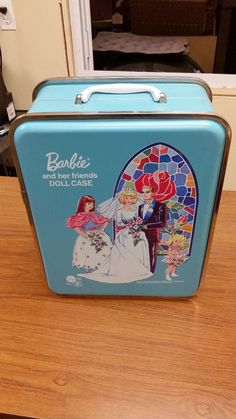 Vintage Barbie And Her Friends Doll Case 1958