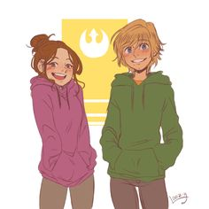 luke skywalker | Tumblr | The Luke and Leia I want to read about. The happy twins.