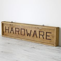 Holidays gift guide for him. Handmade, vintage and repurposed goods Store Signage, Gift Guide For Him, Ace Hardware, Holiday Gift Guide, Habitats, Etsy, Vintage, Studio Ideas, Repurposed
