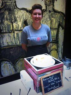 Twitter / hotel_lucia: Gabi of @saltandstraw dishing ...