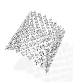 La manchette Madison en diamants de Messika http://www.guilhem-joaillier.com