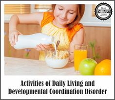 ADLs and Children with DCD | YourTherapySource.com Blog