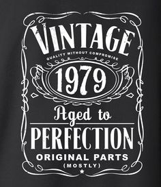 35th Birthday Gift For Men and Women Vintage by SHIRTSnGIGGLES
